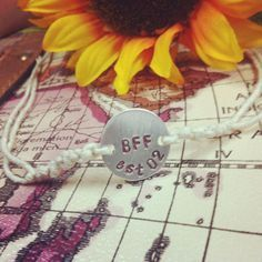 the bff bracelet great gift for best friends as a best friends bracelet or bridesmaid gifts or shower gifts 12 00 via etsy 2