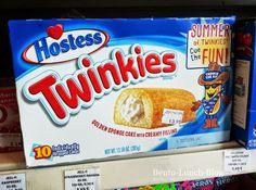 Twinkies. Dr. Heimbs liebt sie. (Konvention) Bento, Pop Tarts, Hostess Twinkies, Raspberry, Strawberry, Sponge Cake, Blog, Berries, Snack Recipes