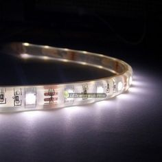 waterproof 60 SMD Power 3528 LED strip lights operate at 12V DC