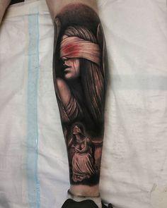 First tattoo back from holidays. Fallen angel on the back of the calf. @leigh_tattoos @loco_tattoo  #locotattoo #robina #goldcoast #tattoo #tat #tattoos #ink #inked #tattooartist #tattooist #tattooedguys #guyswithtattoos #tattooart #follow #followme #tagsforlikes #greywash #calftattoo #angeltattoo