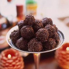 Chocolate Bourbon Balls, in the south, we call them southern truffles, boozy and bad to the bone!