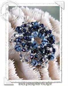 Jewelry making tutorials, a collection of tutorials: Reta pendant - Ewa