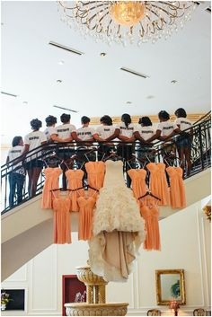 love this shot of the bride & bridesmaids!