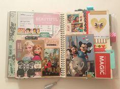 Disney World Smash Book Layout | huesohueso