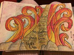 #unrelentingpursuit #biblejournaling #biblejournalingcommunity #illustratedfaith #letmypeoplego #exodus #redsea http://ift.tt/1KAavV3