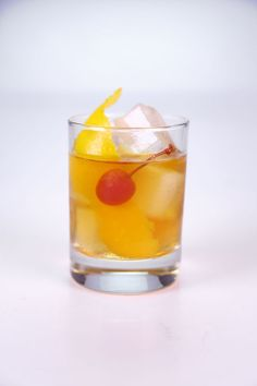 the chew | Recipe  | Clinton Kelly's Old Fashioned Cocktail