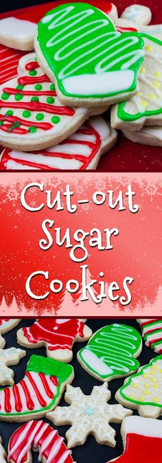 Cut-Out Sugar Cookies - The perfect tender, buttery, no spread cookie.