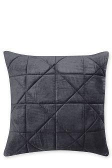 Quilted Velvet Cushion (711807)   £18