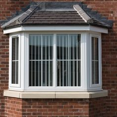 upvc bow and bay windows peterborough cambridge styles colors grids amp options House Window Design, House Outside Design, House Design, Pool House Plans, Bungalow House Plans, House Windows, Windows And Doors, Bay Windows, Latest Window Designs