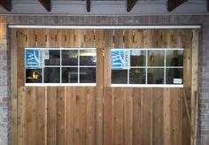 DIY insulated carriage doors