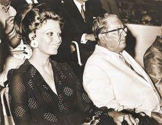 Josip Broz Tito and famous Italian actress Sophia Loren :)