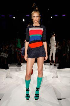 L.A.M.B. Spring/Summer 2012 #fashion #runway #style