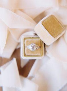 Engagement Rings 2017/ 2018   Princess-cut diamond ring: www.stylemepretty
