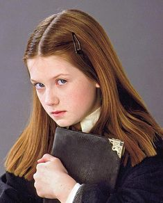 Ginny Weasley and Harry Potter and the Chamber of Secrets Photograph