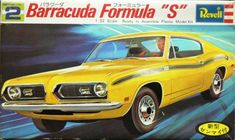 "Plymouth Barracuda Formula ""S"" by Gunze Revell Kit H-3917"