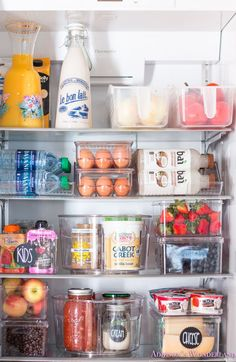 iDesign Plastic Egg Holder for Refrigerator with Handle and Lid, Fridge Storage Organizer for Kitchen, Holds up to 21 Eggs, Clear Refrigerator Organization, Organisation Hacks, Kitchen Organization Pantry, Organized Fridge, Freezer Organization, Refrigerator Storage, Healthy Fridge, Organizing Hacks, Classic Kitchen