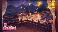 Anime Backgrounds Wallpapers, Pretty Wallpapers, Animation Background, Art Background, Traditional Chinese House, Anime Places, Japanese Festival, Anime City, Dark Anime Girl