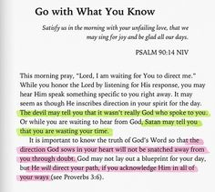 He will direct your path.