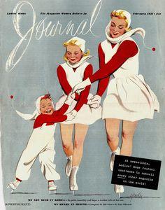 1951 Ladies Home Journal - Al Parker