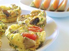 Omelettmuffins med melon Riktig god morgen alle sammen. I dag tidlig laget jeg en deilig frokost som gikk ned på …