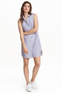 Robe chemise sans manches | H&M