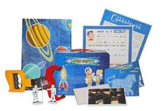 Space Scouts monthly subscription box is a great way to learn all about the Universe. Ages 6+ Get 20% off your initial purchase now! #spon