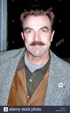 Download this stock image: Tom Selleck in 1994. Tom Selleck exits the Good Morning America studios, NYC in 1994 and enters the Ed Sullivan Theater, NYC for David Letterman on August 28, 2001. - K5R41F from Alamy's library of millions of high resolution stock photos, illustrations and vectors.