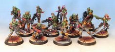 Tom Schadle Miniatures: Complete Infinity Army Painting Service