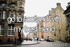 We can help you & your best friend get to Scotland! http://www.arcadia.edu/abroad/default.aspx?id=6743