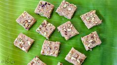 A Diwali special recipe - dry fruit burfi, with cashews, walnuts, figs and more!