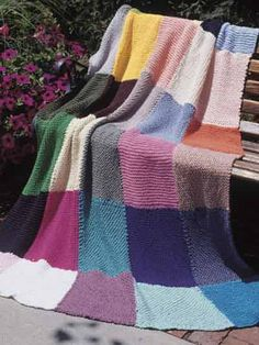 Afghan & Throw Knitting - Textured Afghan Knitting Patterns - Dover Road