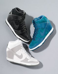 Nike 'Dunk Sky Hi' Wedge Sneaker