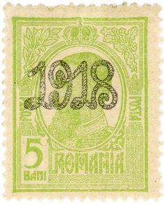Romania postage stamp: King Carol I | by karen horton - c. 1918