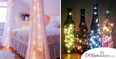 Diese21 tolle DIY Wohndeko-Ideen mit Lichterketten sind einfach sensationell! Suchst du DIY Wohndeko-Ideen mit Lichterketten, die du das ganze Jahr über verwenden