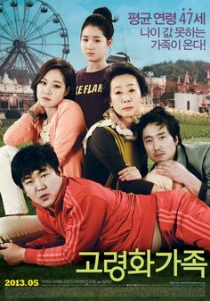 Boomerang Family (고령화가족) [2013] Korean Movie - Starring: Park Hae Il, Yoon Je Moon, Kong Hyo Jin, Youn Yuh Jung, Jin Ji Hee, Ye Ji Won & Kim Young Jae