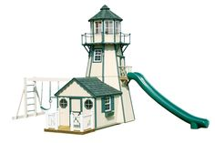Lighthouse Playhouse & Swing Set...