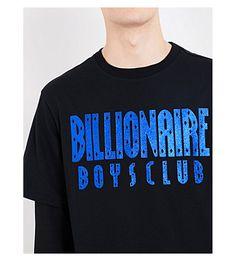 51e9c4667 BILLIONAIRE BOYS CLUB - Glitter logo cotton-jersey T-shirt