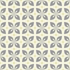 mid-century flower in alloy fabric by molipop on Spoonflower - custom fabric
