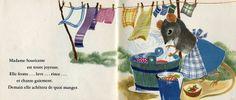 La lessive de Madame Souricette -