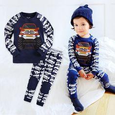 NWT-Vaenait-Baby-Infant-Toddler-Kids-Boys-Clothes-Pajama-Set-Jeep-12M-7T