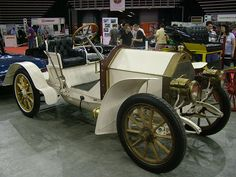 """The 1902 Mercedes Simplex, """"comfort by means of simplicity"""" was the slogan hence the name """"Simplex""""."""