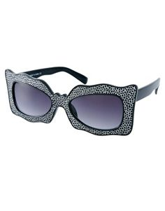 Enlarge ASOS Wavy Glitter Cat Eye Sunglasses — bought these too!