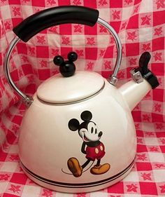 MICKEY MOUSE Whistling Tea Pot...LOVE!!!