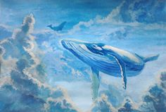 Whales in the sky by JeVi47