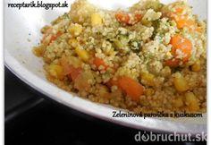 Rýchla Zeleninová panvička s kuskusom