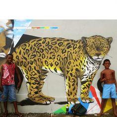 465 vind-ik-leuks, 5 reacties - Zéh Palito (@zehpalito) op Instagram: 'Meninos e sua parte favorita do mural.  Não é a vida como está, e sim as coisas como são.  Renato…'
