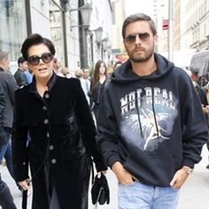 "Kris Jenner and Scott Disick are spotted shopping at ""Bergdorf Goodman"" in New York (349770)"
