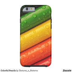Colorful Pencils Tough iPhone 6 Case  #colorful #pencils #iphonecase #iphone