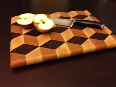 Another Cutting Board End Grain Cutting Board, Diy Cutting Board, Wood Cutting Boards, Butcher Block Cutting Board, Chopping Boards, Wooden Boards, Learn Woodworking, Woodworking Workbench, Woodworking Projects