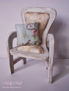 MelyMel Piccoli sogni: Tutorial-Shabby Chair